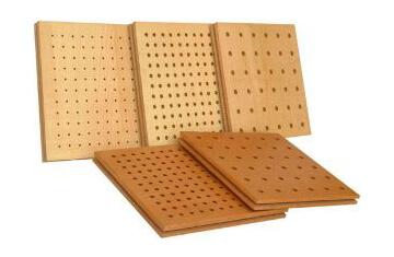 akustik ahşap ses yalıtım panelleri