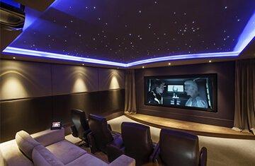 evde sinema salonu akustik yalıtım